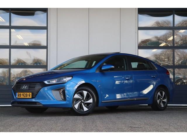 Hyundai IONIQ 1.6 GDi | Excl. BTW | Camera | Leder | Schuifdak | Memory seat | Navigatie