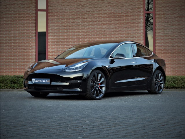 Tesla Model 3 Performance AWD 4% tot 2025 € 52.850 excl. BTW