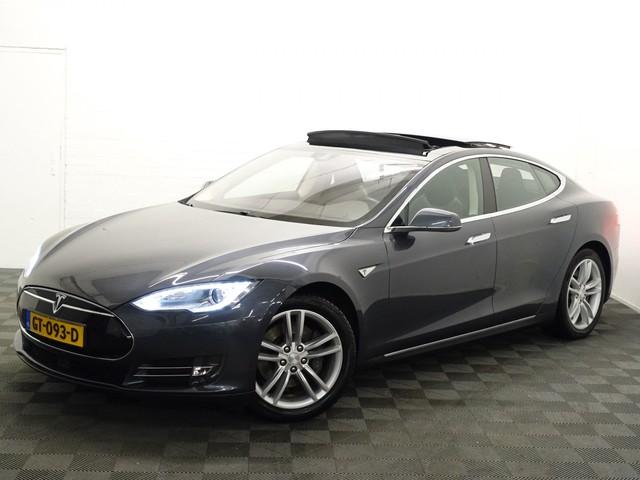 Tesla Model S 60 - 306 pk Autom- Pano, Leer, Camera, Autopilot, Supercharger, Full!