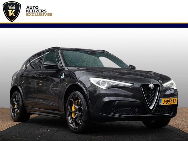 Alfa Romeo Stelvio 2.9 V6 AWD Quadrifoglio Adaptieve Cruise Control Panodak Keramische remmen Hemelvaartsdag open!