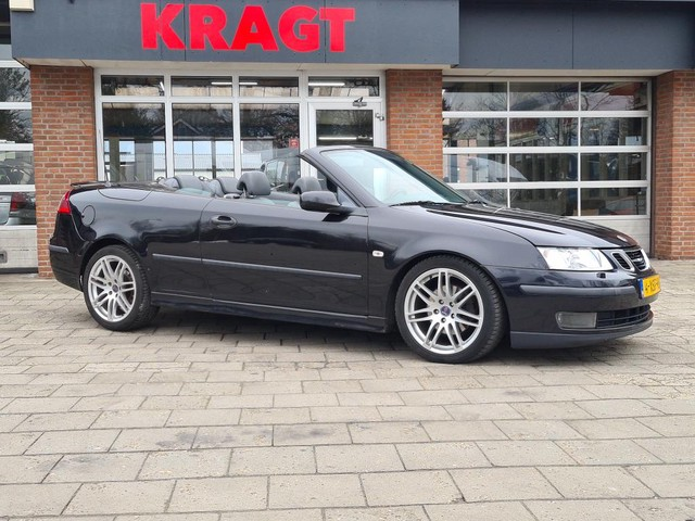Saab 9-3 Cabrio Vector 1.9TiD 150 pk - Xenon - leder - winterpack - trekhaak! - Youngtimer