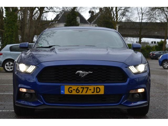 Ford Mustang Coupe 309 PK, VOL LEDER, CAMERA, BLUETOOTH, FULL LED   XENON, 19