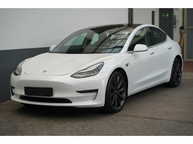 Tesla Model 3 Performance (377kW   513pk) AWD Dual LR ** LED, 20-inch LMV, 360 Camera, EXCL. BTW ** 1e EIG - Unfallfrei - GAR t m 02-23 ** **