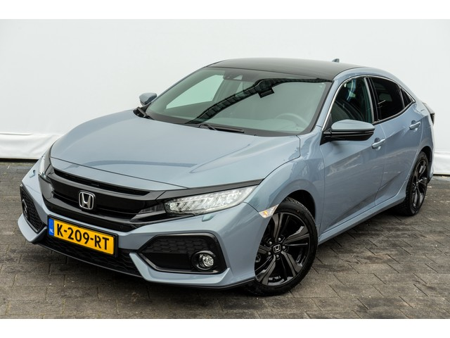 Honda Civic 1.0 i-VTEC Aut. Executive Panoramadak  Stoelverwarming  Full led  Camera  Adapt. cruise  Navigatie