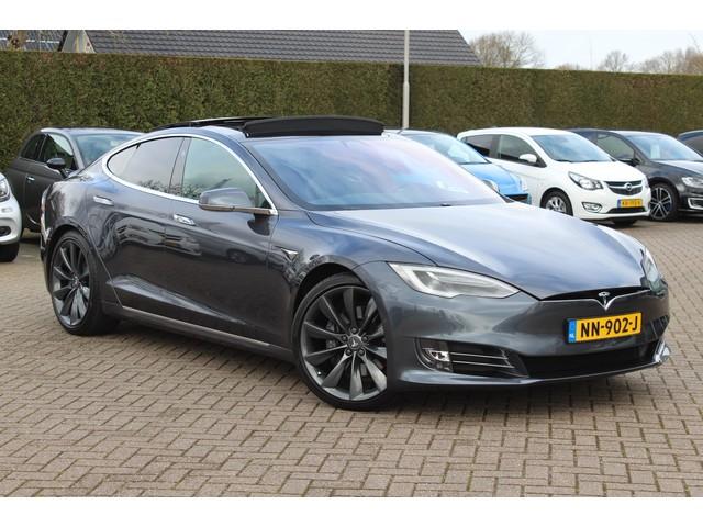 Tesla Model S 90D Base Excl. BTW   Autopilot   Luchtvering   Panoramadak   Carbon   21''