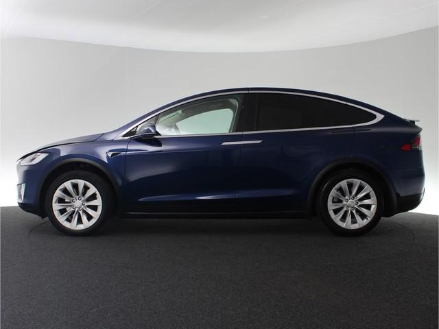 Tesla Model X 100D 6p. 418pk | All-wheel Drive | Trekhaak Afn. | Lederen bekleding | Camera rondom | LED verlichting | Panoramische voorruit |