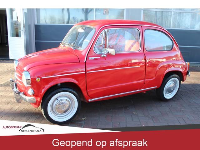 Fiat zastava 750 uit 1963 Uniek benzine lpg Nette staat