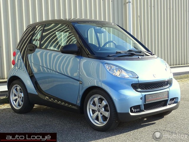 Smart Fortwo coupe Edition Pure mhd, softtouch, panoramadak