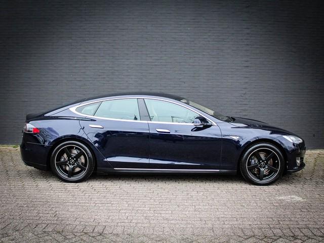 Tesla Model S 85 BTW VRIJ! Navigatie   Leder   Free Supercharging