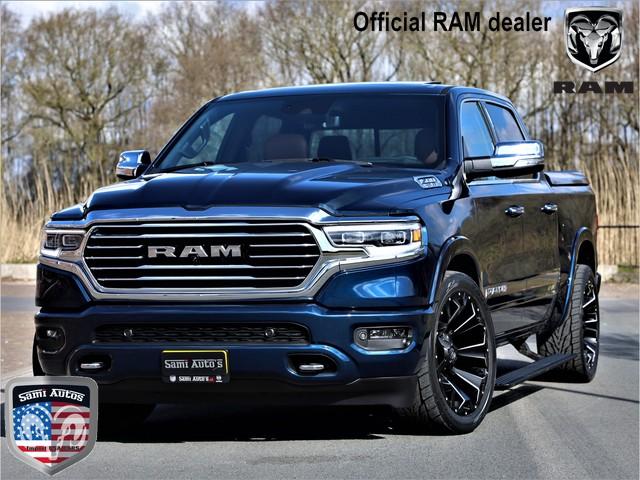 Dodge Ram 1500 LONGHORN 2021 ADG TECHNOLOGY PACK | NEW SADDLE INTRIEUR | 5.7HEMI 4X4 | LUCHTVERING | CREWCAB | DUBBELE CABINE | PATRIOT BL