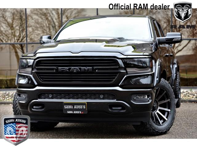 Dodge Ram 1500 LARAMIE NIGHT EDITION HULK BLACK PACK | RIJKLAAR MET NL KENTEKEN EN 3 JAAR GARANTIE | 5.7 V8 HEMI 402PK 4x4 Verwachte lever