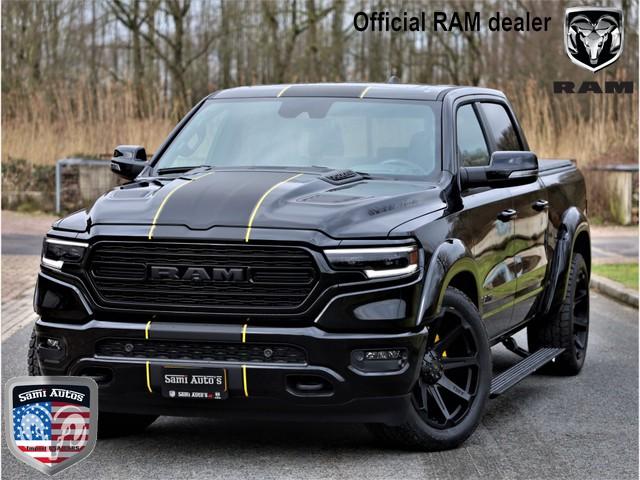 Dodge Ram 1500 LIMITED NIGHT EDITION SPORT HULK YELL PACK | RIJKLAAR OP NL KENTEKEN EN 3 JAAR GARANTIE | BOM VOL |5.7 V8 HEMI 401PK | 4x4