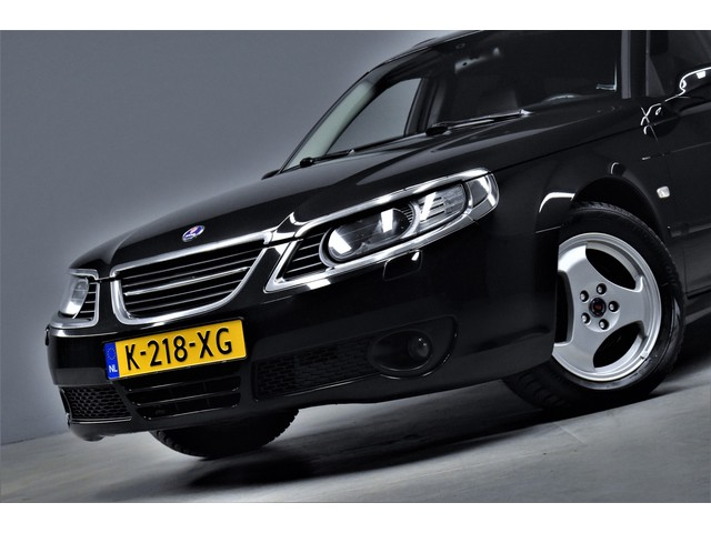 Saab 9-5 Estate 2.3t 184pk Linear Business Automaat Youngtimer Navi Xenon H.Leer Sportstoelen Stoelverw. Climate Pdc 126dkm