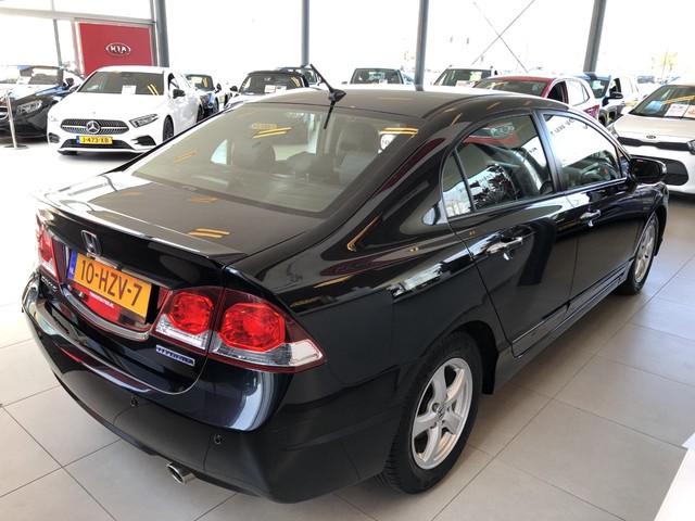 Honda Civic 1.3 Hybrid Uitvoering, Dealer Onderhouden, Lederen Bekleding, Parkeersensoren, Cruise Control, Licht Metalen Velgen, Enz.. Hemel