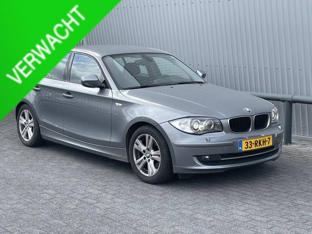 BMW 1 Serie 118i *NAVI*SPORTSTOELEN*M-PAKKET INT.*XENON*LEDER*