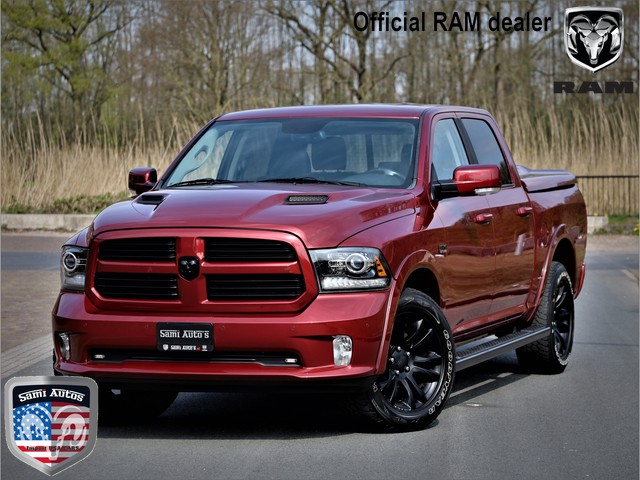 Dodge Ram 1500 SPORT | LAGE BIJTELLING | LPG | 3500KG | DUBBELE CABINE | CAMERA | CRUISE | OPEN DAK | LEDER | ELECTRISCHE STOELEN | TONNEA