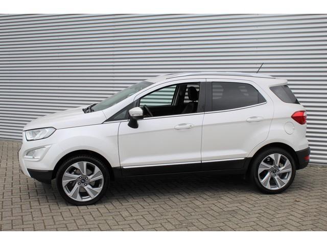 Ford EcoSport 1.0 EcoBoost Titanium 125PK | Winterpack | 18'' Velgen | Camera | Keyless entry