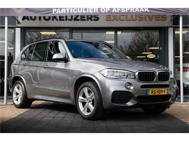 BMW X5 xDrive30d High Executive M Pakket Panoramadak 360cam. Harman kardon HUD Memory Zondag a.s. open!