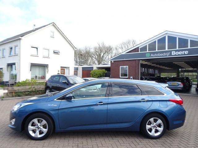 Hyundai i40 Wagon 1.6 GDI 135pk Blue Bns Edit. Leer, Trekhaak, Navi, Camera