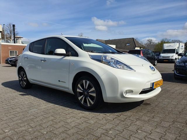 Nissan Leaf (INCL BTW) Tekna 24 kWh *LEDER+NAVI+PDC+ECC+CRUISE*