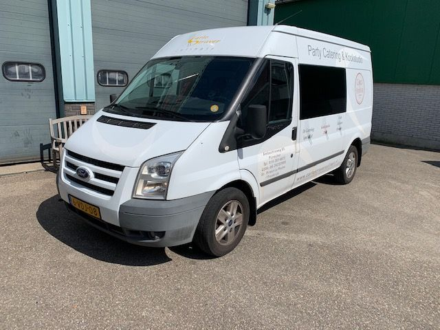 Ford Transit 2.2 DTCT Trend 280 M Dubbele cabine Luxe Lange uitvoering 6 bak Airco