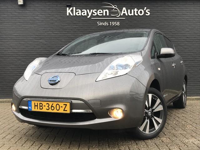 Nissan Leaf Tekna 24 kWh AUT. | 100% elektrisch | dealer onderhouden | navigatie | leder | excl. BTW