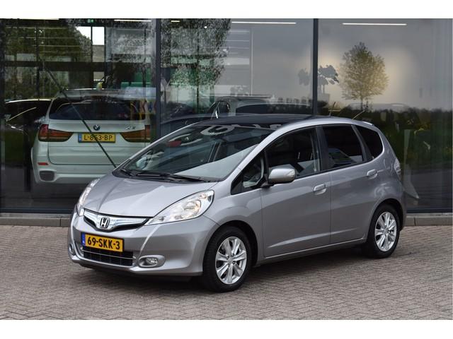 Honda Jazz 1.4 Hybrid Elegance, Panoramadak, Afn. Trekhaak, Navigatie, Climate Control