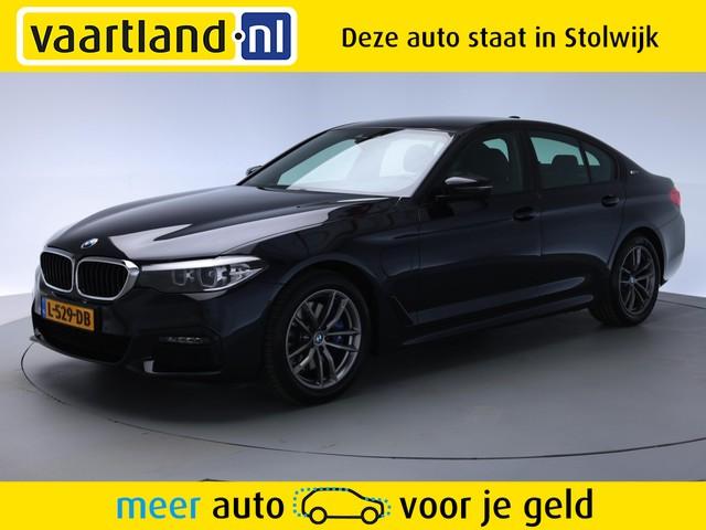 BMW 5 Serie 530e M-pakket Aut. [ Navi Leder Led Harman Kardon ]