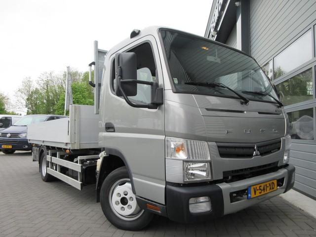 FUSO Canter 3C13 3.0 130pk, kipper, open laadbak, awh3500kg, pick-up