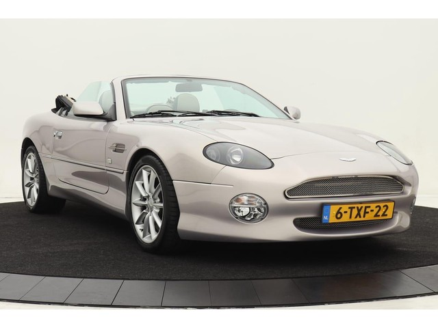 Aston Martin DB7 5.9 V12 Volante Aut | Carbon inleg | Premium audio | Te zien in de Classic Remise te Dusseldorf Duitsland | Geheel Aston dealer
