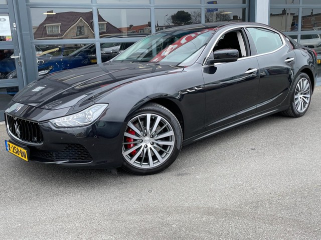 Maserati Ghibli 3.0 S Q4 AUT NAVI LEER 411PK 112.397km 