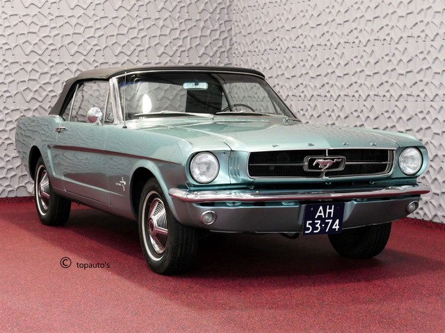 Ford Mustang Convertible 6 CYL LIJN AUTOMAAT 1965