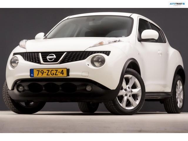 Nissan Juke 1.6 Tekna Sport Automaat (STOELVERW, SPORTSTOELEN, PARKEERSENS, CLIMATE, LM VELGEN, ELEK PAKKET, CRUISE, NIEUWSTAAT)