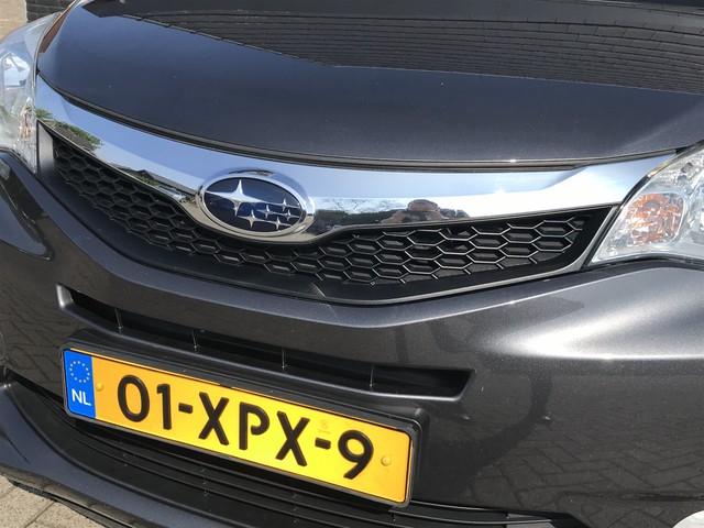 Subaru Trezia 1.3 Comfort   dealer onderhouden   airco   trekhaak   parkeersensoren   stootlijsten