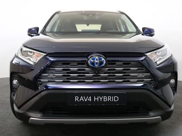 Toyota RAV4 2.5 Hybrid Executive Premium Donker grijs leder Stuurverwarming, Stoelverwarming