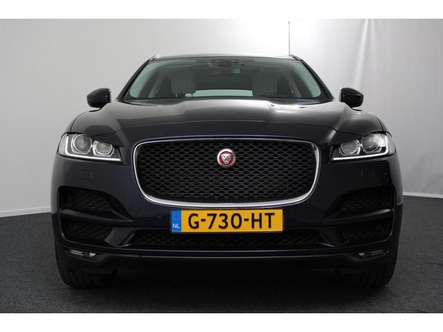 Jaguar F-Pace 2.0D 180pk Prestige | All Wheel Drive | Navigatie | Panoramadak | Leder Interieur | Camera | Electrische Achterklep | 20