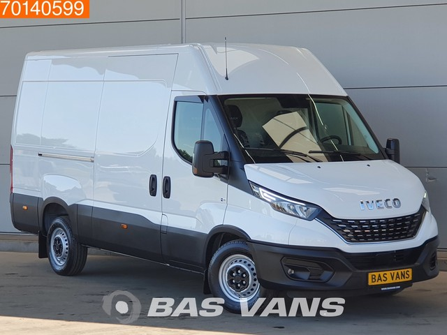 Iveco Daily 35S16 160PK Automaat L2H2 LED Airco Cruise Geveerde stoel 12m3 Airco Cruise control