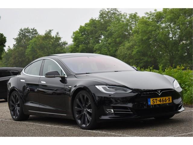 Tesla Model S 75D Base Premium INCL.BTW € 70.119 , NL-AUTO, OPEN DAK, LEDER, CARBON, LED   XENON, 5X STOELVERWARMING