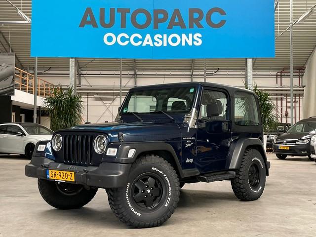 Jeep Wrangler 4.0i Hardtop incl. soft-top en extra set LM velgen