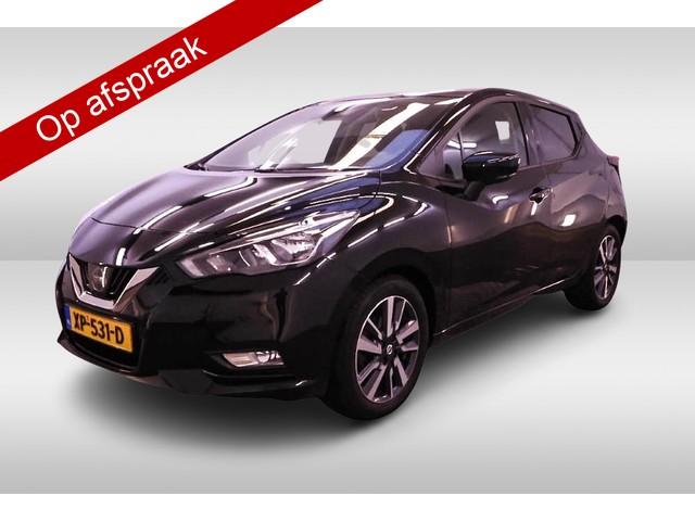 Nissan Micra 1.0 IG-T N-Connecta 1-Ste-Eigenaar, Dealer-Onderh., Navigatie, Parkeersensoren-A, A-Camera, Cruise Control, NL-Auto