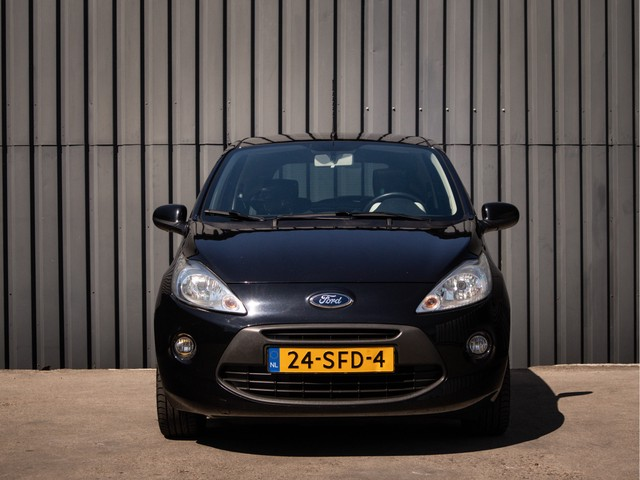 Ford Ka 1.2 Titanium X start stop, Panorama-Dak, Leder-Bekleding, 2de-Eigenaar, Airco, Black-Edition, Keurig-Onderh., NL-Auto