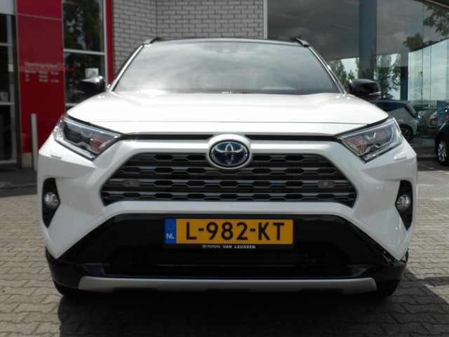 Toyota RAV4 New 2.5 HYBRID APPLE ANDROID AUTO ELEK. ACHTERKLEP BI-TONE LEER