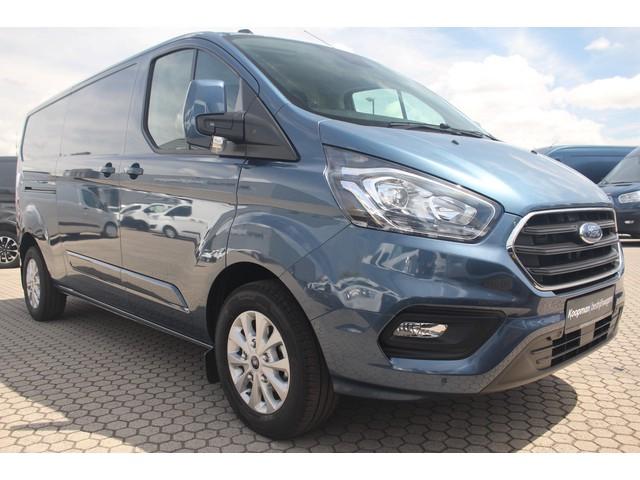 Ford Transit Custom 300 2.0TDCI 130pk L2H1 Limited   Nieuw!   Automaat   L+R Zijdeur   Navi   Camera   Blind Spot   Lease 467,- p m