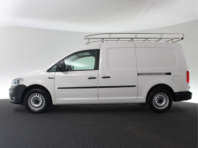 Volkswagen Caddy 2.0 TDI L2H1 BMT Maxi Trendline | Airco | Imperiaal | Lat-om-lat betimmering | Cruise control | Bluetooth |