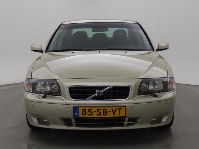 Volvo S80 2.5T AUT. 210 PK *YOUNGTIMER* + LEDER   STOELVERWARMING   TREKHAAK   CLIMATE   CRUISE CONTROL