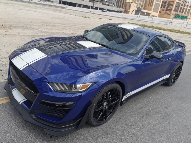 Ford Mustang Fastback 317PK, GT500 Shelby Style Leer, 20 inch LM