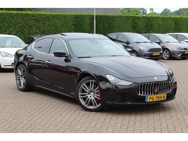 Maserati Ghibli 3.0 V6 D   Schuifdak   Camera   Luxe leder   Carbon intr.