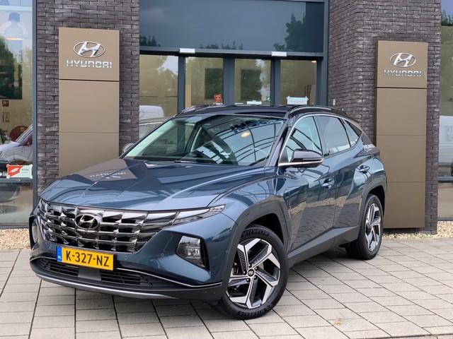 Hyundai Tucson 1.6 T-GDI HEV Premium met ruim 4000 euro Demo Voordeel! Automaat met Navigatie en Camera