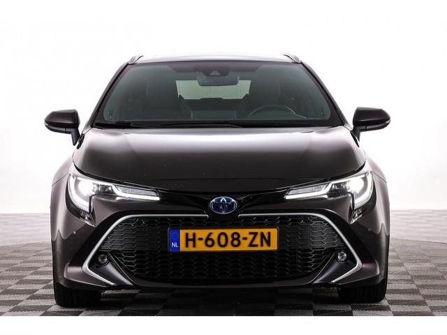 Toyota Corolla Touring Sport 2.0 Hybrid 184PK Premium | JBL | Half LEDER | Trekhaak | NAVI -A.S. ZONDAG OPEN!-