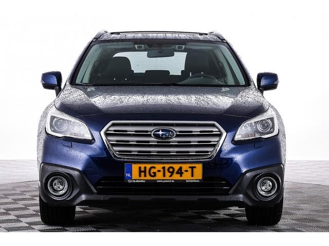 Subaru Outback 2.5i Premium Automaat | LEDER | SCHUIFDAK | Trekhaak | 1e Eigenaar -A.S. ZONDAG OPEN!-